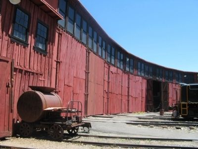 Rear View of the Roundhouse image. Click for full size.