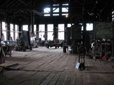 East Broad Top Railroad Shop Tour image. Click for full size.