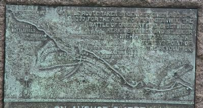 On August 5, 1777 Marker image. Click for full size.