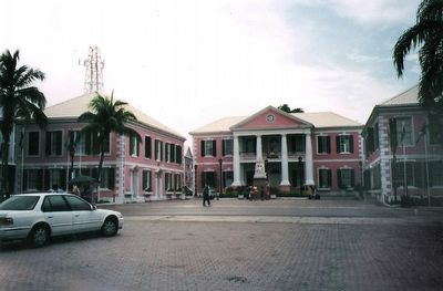 The Bahamian Parliament Buildings image. Click for full size.