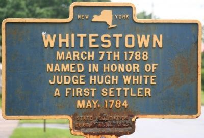 Whitestown Marker image. Click for full size.
