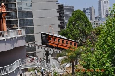 Angel's Flight Rail Car image. Click for full size.