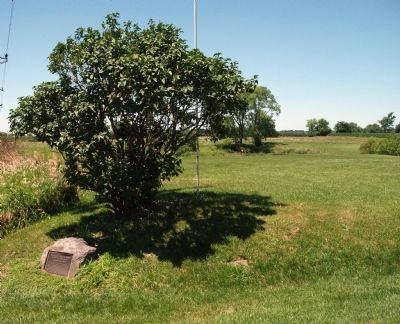 Wide View - - Potawatomi Trail of Death Marker image, Touch for more information