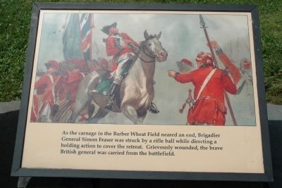 General Fraser Struck Down image. Click for full size.
