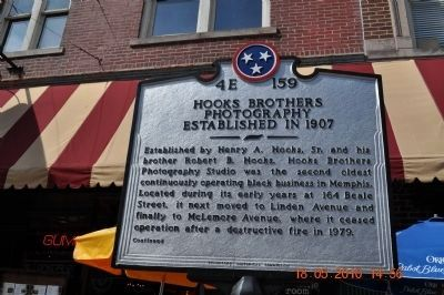 Hooks Brothers Photography Marker Side A image. Click for full size.