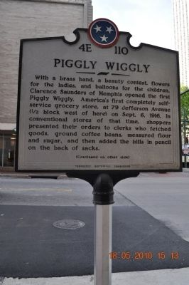 Piggly Wiggly Marker image. Click for full size.