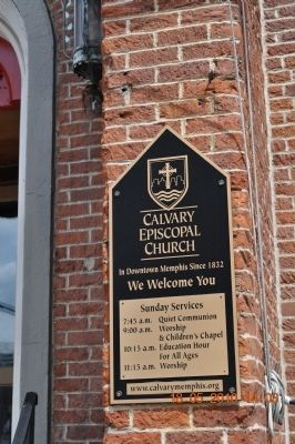 Calvary Protestant Episcopal Church image. Click for full size.