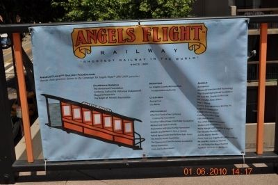 Angel's Flight Donors Partial List image. Click for full size.