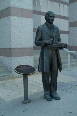 Thomas Day Statue image. Click for full size.