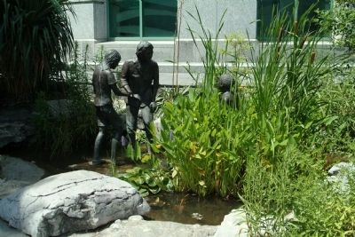 Rachel Carson Sculpture and Wildlife Garden image. Click for full size.
