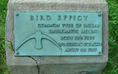 Bird Effigy Marker image. Click for full size.