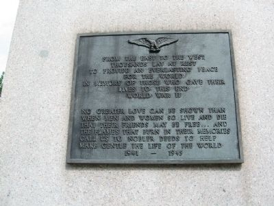 West Plaque image. Click for full size.