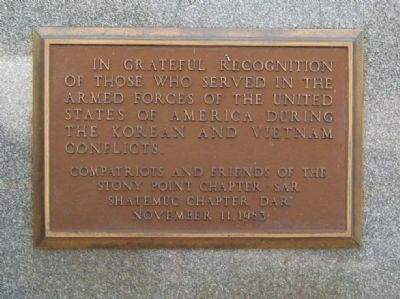 In Grateful Recognition Monument image. Click for full size.