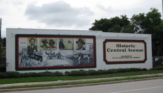 Historic Central Avenue Mural image. Click for full size.