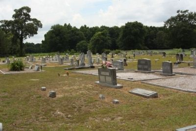 St. Johns Baptist Church cemetery image. Click for full size.