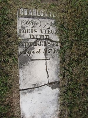 Charlotte, wife of Louis Vieux image. Click for full size.