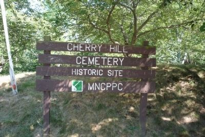 Cherry Hill Cemetery Historic Site image. Click for full size.