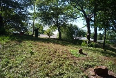 Hillside graves in Cherry Hill Cemetery image. Click for full size.