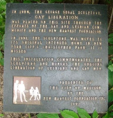 Gay Liberation Marker image. Click for full size.