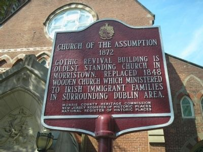 Church of the Assumption Marker image. Click for full size.