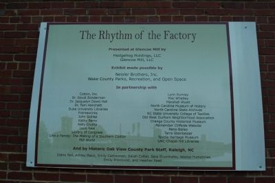 The Rhythm of the Factory - Series of Markers image. Click for full size.