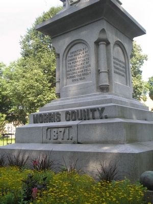 Morris County Civil War Monument Marker image. Click for full size.