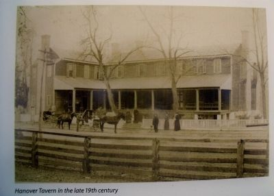 Hanover Tavern in the late 19th century image. Click for full size.
