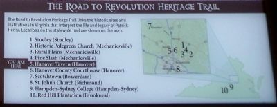 The Road to Revolution Heritage Trail image. Click for full size.