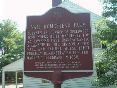 Vail Homestead Farm Marker image. Click for full size.