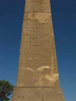 Ogden Monument Marker image. Click for full size.
