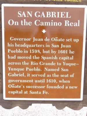 San Gabriel Marker image. Click for full size.