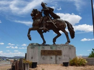 Equestrian Statue of Juan De Oñate image. Click for full size.