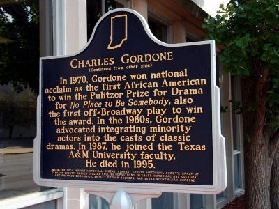 Charles Gardone Marker (side 2) image. Click for full size.