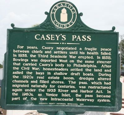 Casey's Pass Marker image. Click for full size.