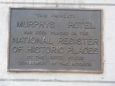 NRHP Plaque image. Click for full size.