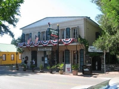 Murphys Hotel Decorated for the 4th of July Holiday image. Click for full size.