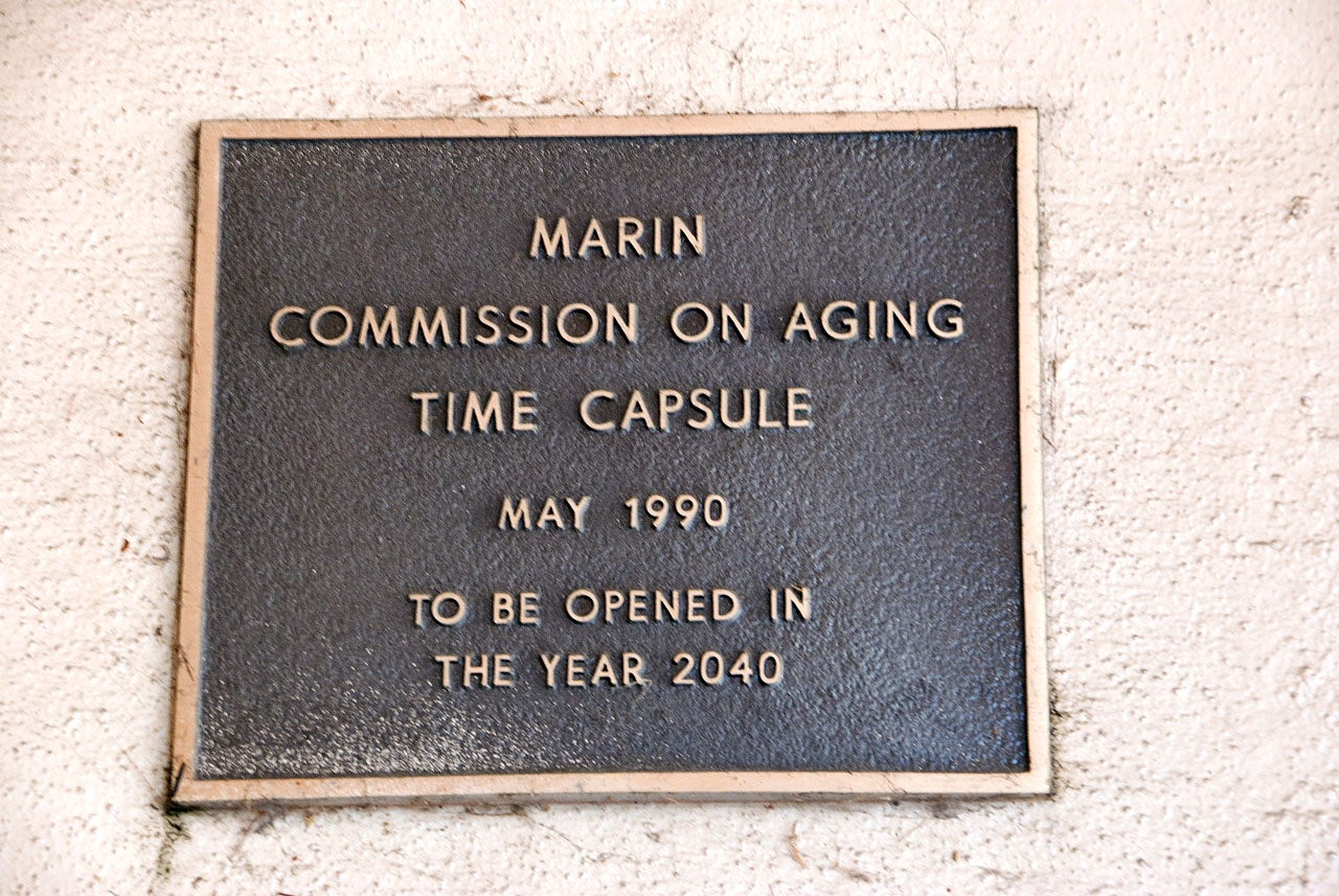 Marin Commission on Aging Time Capsule