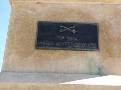 To the United States Cavalry Marker image. Click for full size.