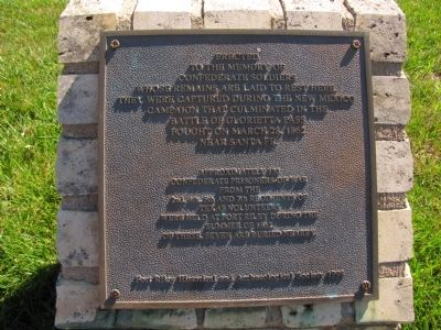 Confederate POWs Marker image. Click for full size.