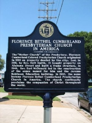 Florence Bethel Cumberland Marker image. Click for full size.
