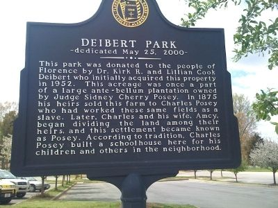 Deibert Park Marker image. Click for full size.