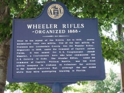 Wheeler Rifles Marker image. Click for full size.