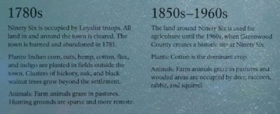Environmental Change From Forest to Park Marker -<br>1780s/1850s-1960s image. Click for full size.