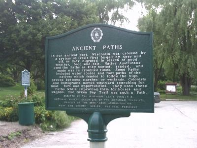 Ancient Paths Marker image. Click for full size.