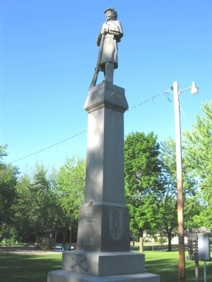 New Lisbon Civil War Memorial image. Click for full size.