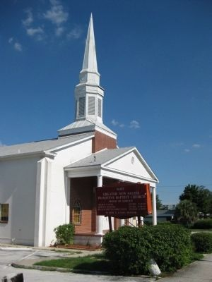 Greater New Salem Primitive Baptist Church image. Click for full size.