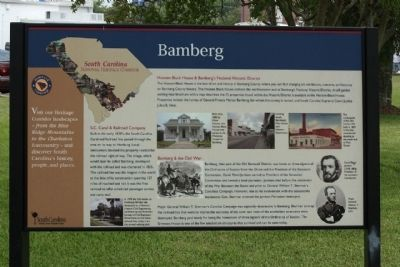 Bamberg Marker image. Click for full size.