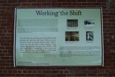 Working the Shift Marker image. Click for full size.