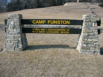 Camp Funston Marker image. Click for full size.