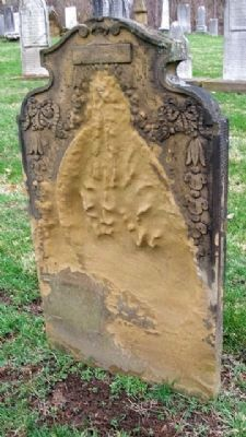 Deteriorating Sandstone Marker image. Click for full size.